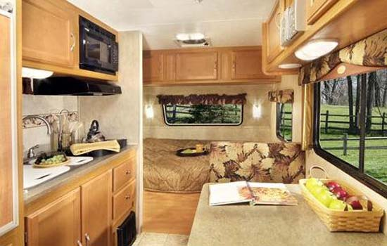 Eco Travel Trailer Interior