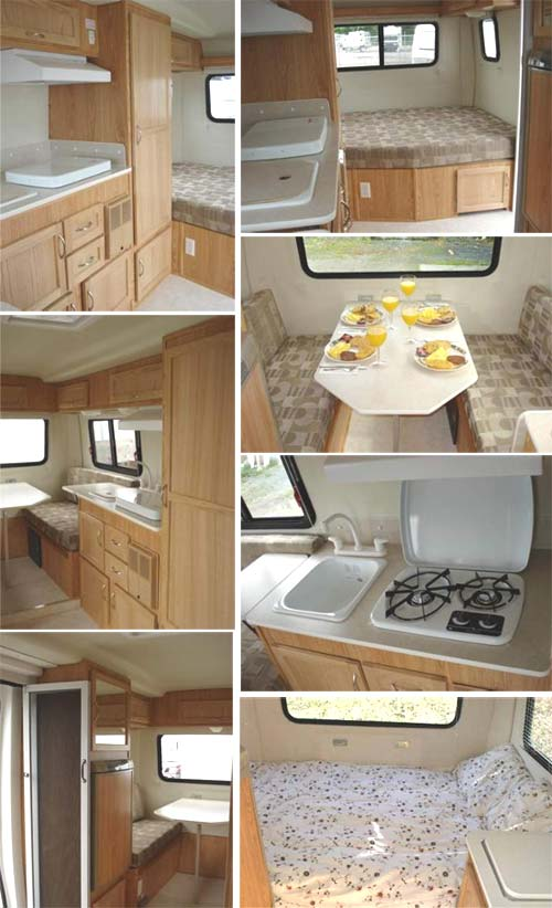 2009 Escape travel trailer - 17' | Roaming Times