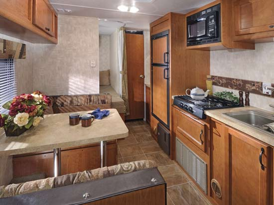 2009forest River Cherokee Grey Wolf Travel Trailer Model