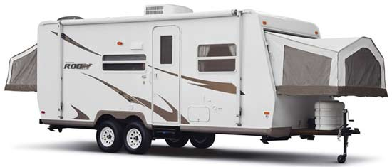 2009 Forest River Rockwood Roo expandable travel trailer | Roaming Times