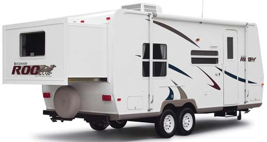 2009 Forest River Rockwood Roo expandable travel trailer   Roaming Times