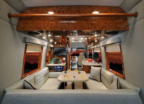 Four Winds Ventura Class B Motorhome Interior