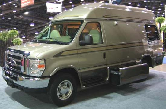Great West Vans Classic class B motorhome exterior