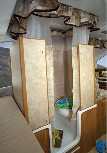 Jayco Select camping trailer interior - bathroom