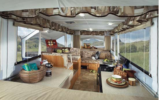 Jayco Select Camping Trailer Interior