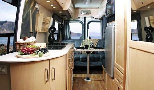 Leisure Travel Vans Free Spirit Class B Motorhome Interior
