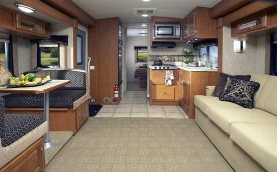 Monaco Montclair class B+ motorhome interior 293TS