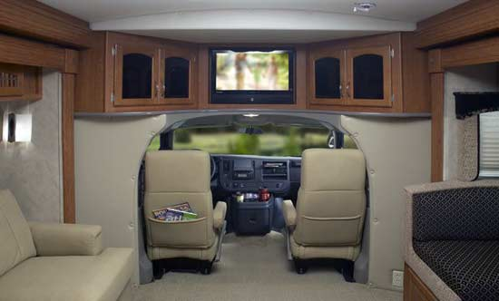 Monaco Montclair Class B Plus Motorhome Interior2 Jpg