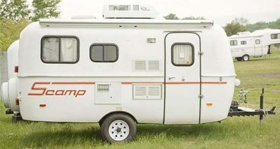 Scamp 16 Travel Trailer Exterior