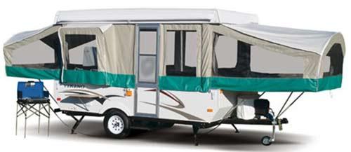 viking epic folding camping trailer exterior