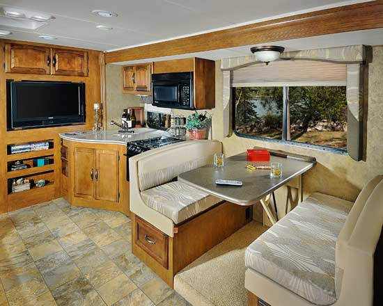 Coachmen Mirada class A motorhome - interior - 29DS