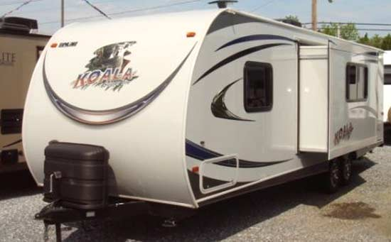 Skyline Koala travel trailer exterior - 25DS