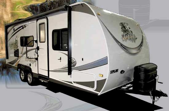 Skyline Koala travel trailer exterior