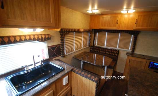 Skyline Koala travel trailer interior - 23CS (2)