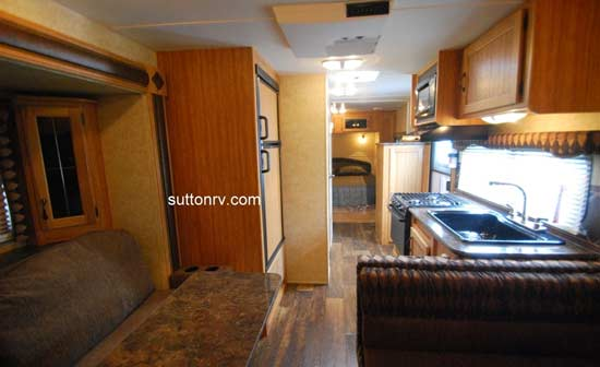 Skyline Koala travel trailer interior - 23CS