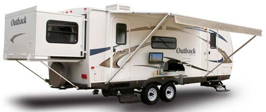 keystone outback travel trailer roaming times
