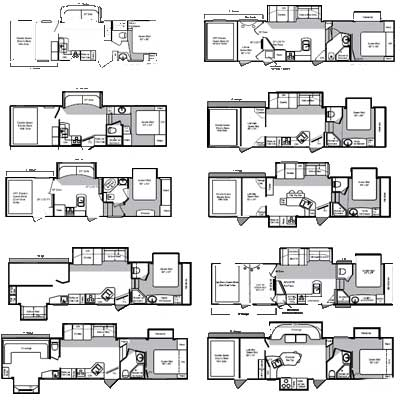Small 5th Wheel Floor Plans Www Picturesso Com
