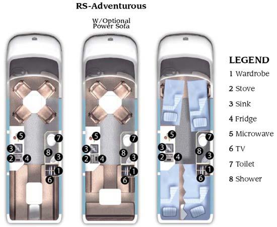 Roadtrek RS-Adventurous class B motorhome | Roaming Times