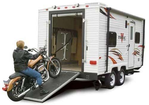 Viking V-Trec sport utility trailer exterior 22 model
