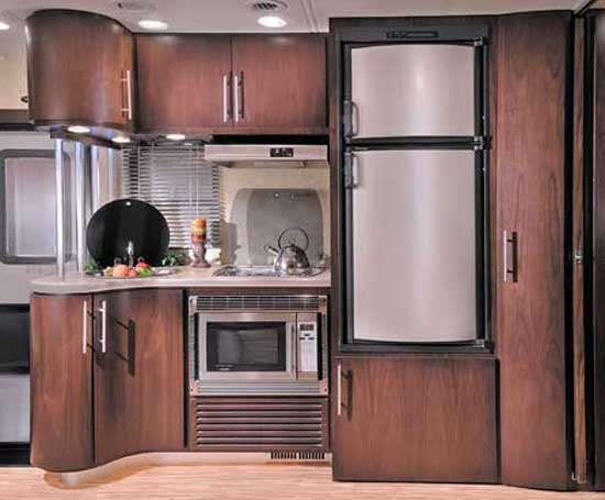 Coachmen Prism class C motorhome interior - kitchen