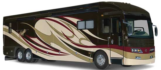 2010 American Coach American Eagle Luxury Motorcoach