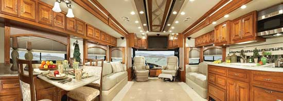 2010 American Coach American Eagle Luxury Motorcoach