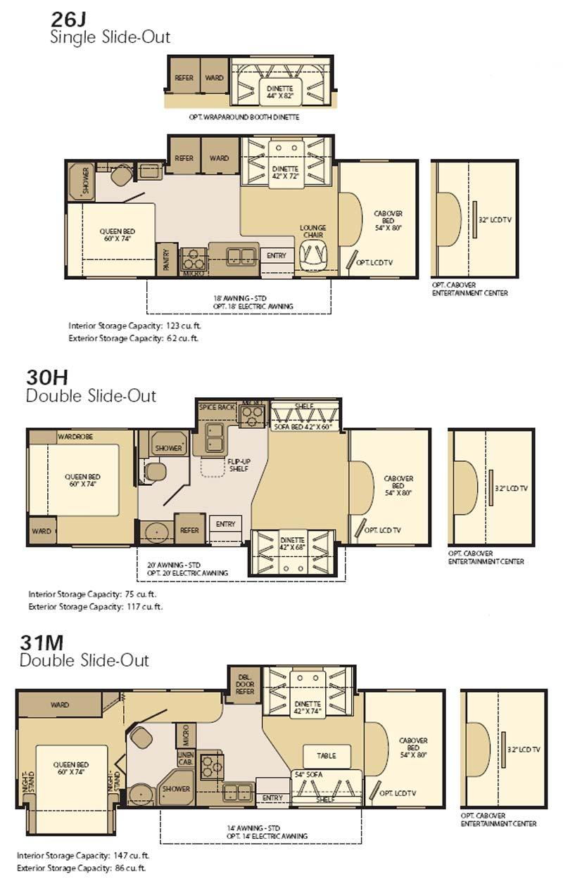 Fleetwood Motorhome Floor Plans Home Review