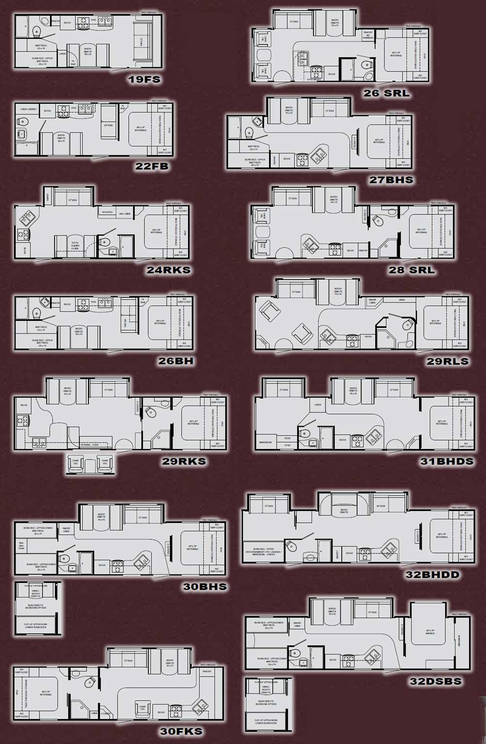 heartland north country travel trailer floorplans