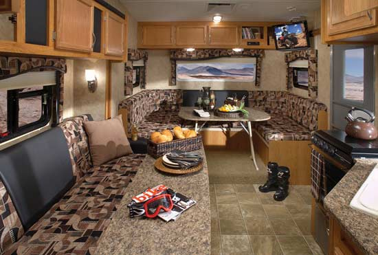 2010 jayco octane zx toy hauler travel trailer roaming times - Toy haulers with front living room ...