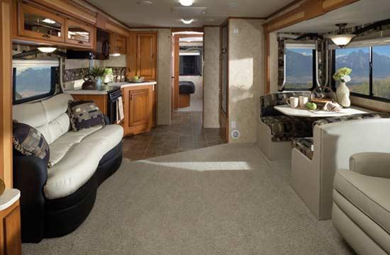 Jayco Seneca Class C Motorhome Interior