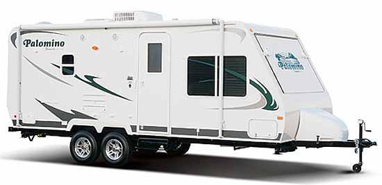 Palomino Stampede ultra-lite travel trailerexterior