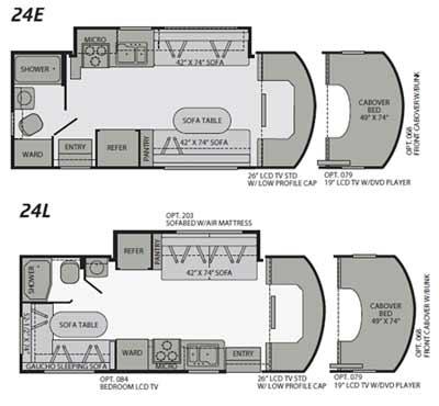 Rv Floor Plans Class C Gurus Floor