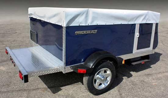 Quicksilver 6.0 automotive tent camper - exterior closed