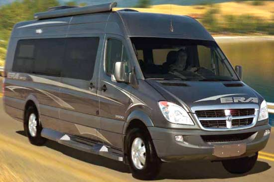 Winnebago ERA class B motorhome 2010 | Roaming Times