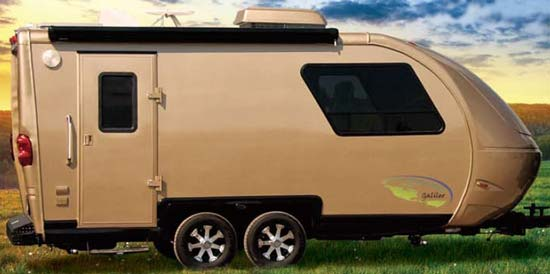 Galileo RS travel trailer exterior