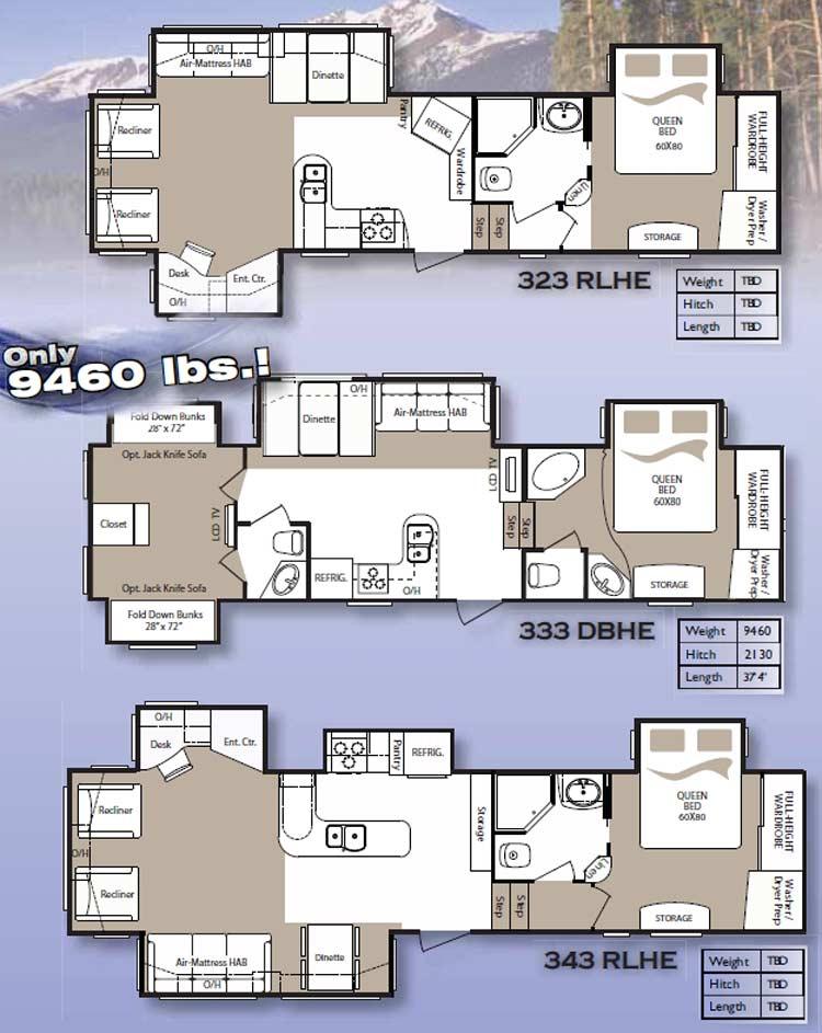Montana 5th Wheel Bunkhouse Floor Plans Floor Matttroy