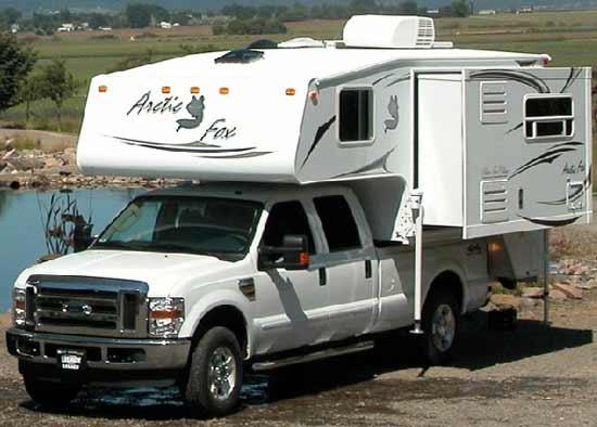 Northwood Arctic Fox truck camper exterior 1