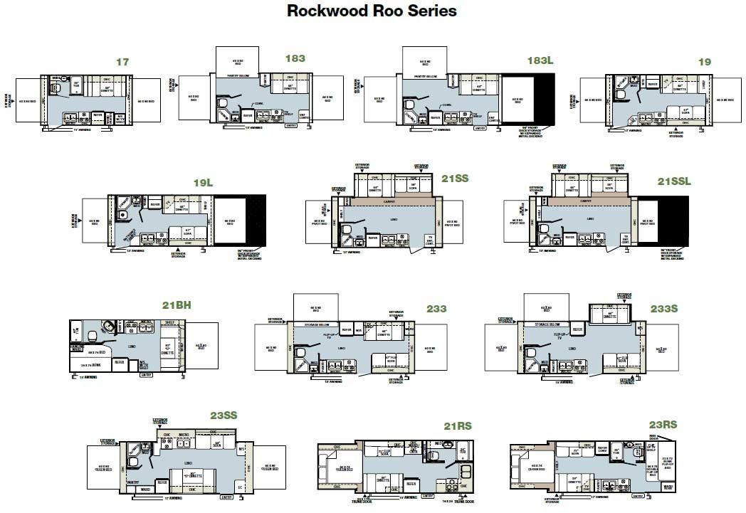 2007 Rockwood Roo Floor Plans Thefloors Co