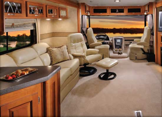 Forest River Georgetown class A motorhome interior - 378TS