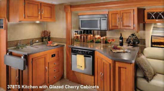Forest River Georgetown class A motorhome - kitchen