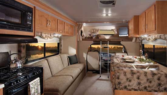 Forest River Sunseeker class C motorhome - interior 2860