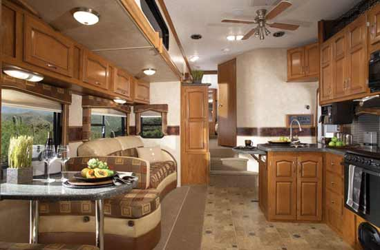 2010 Keystone Raptor Fifth Wheel Toy Hauler Roaming Times