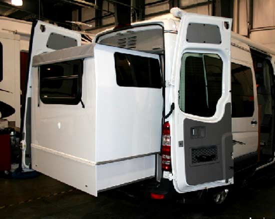 Of The Wonderfully Innovative Rear Slide Out And Its Benefits WHAT IS THE EXTERIOR LIKE These Pictures From Manufacturer Dealers Readers
