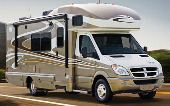 2010 Winnebago View class C motorhome | Roaming Times
