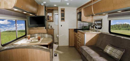Roaming Times Thinks The Winnebago View Really Is A Well Thought Out Motorhome With Many Innovative Features We Show Pictures Of Interior And All