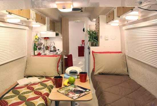 Casita Liberty Small Travel Trailer Interior 1
