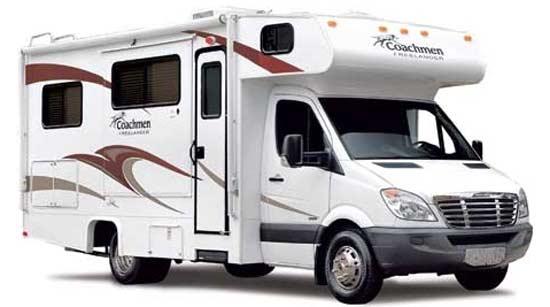 2011 Coachmen Freelander class C motorhome exterior