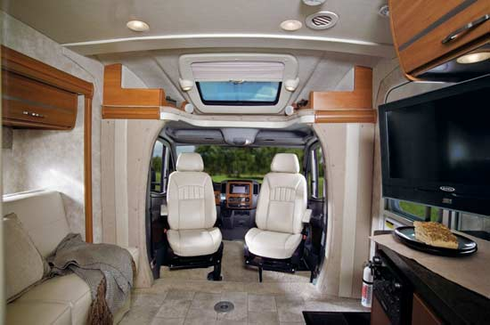2011 Winnebago View class C motorhome | Roaming Times