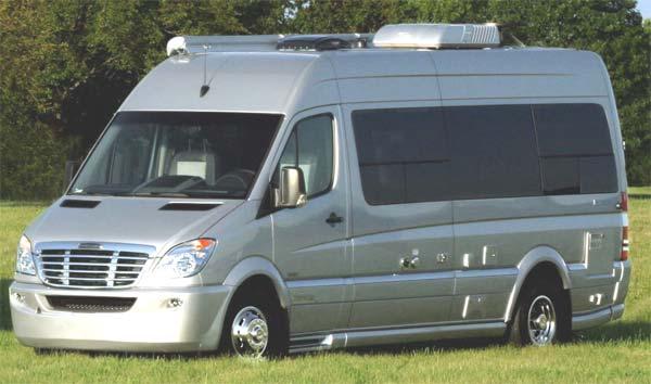 Airstream Interstate 3500 exterior