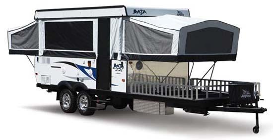 Jayco Baja camping trailer exterior - 2010